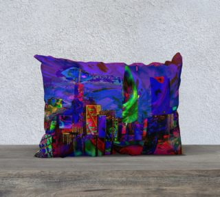 Throw Pillow:  Towers in the City preview