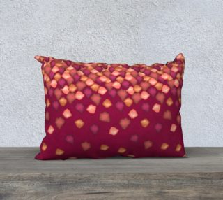 "Falling Leaves Pillow Case - 20""x14"" preview"