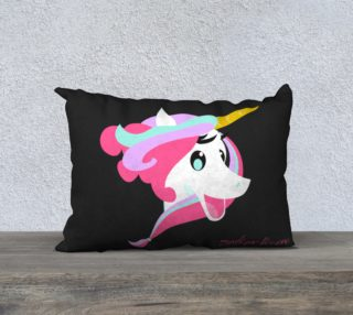 Mystique Licorne 20x14 Pillow Case preview