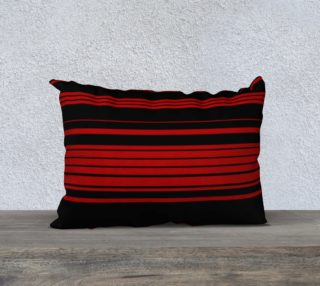Three Red Stripes You're Out 20x14 Pillow Case preview