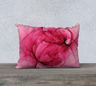 Aperçu de Purely Fractal Pink Throw Pillow