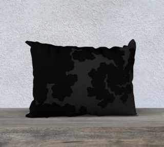 Midnight Smoke Pillow Case Rectangle preview