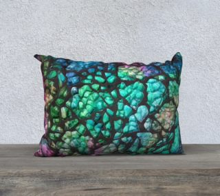 Multicolor lumbar pillow aperçu