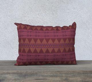 triangles pink orange aperçu