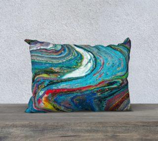 A River Runs Through It Acrylic Pour Art preview