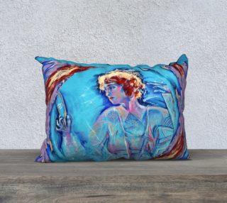 Fire Maiden Pillow Case  preview