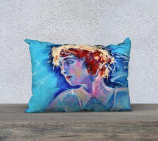 Fire Maiden Portrait Pillow Case preview