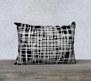 visina throw pillow - 20x14 preview