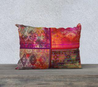 aztec patchwork pillow 20 aperçu