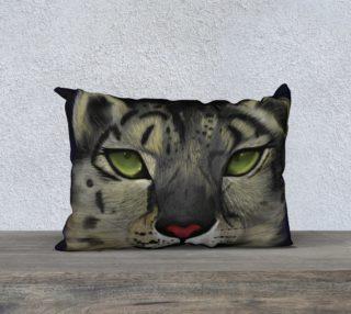 Snow Leopard Pillow  preview