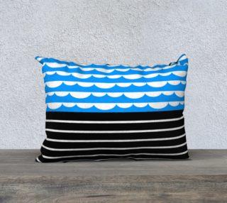 valovi pillow - 20 x 14 preview