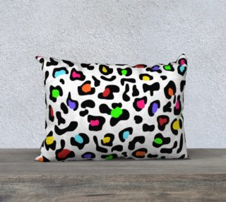 """Lovely Leopard Pillow 20""""x14"""" preview"""