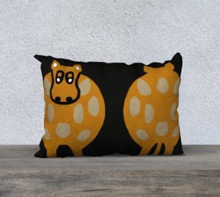 "Silly Cow Pillow Case 20"" x 14"" preview"