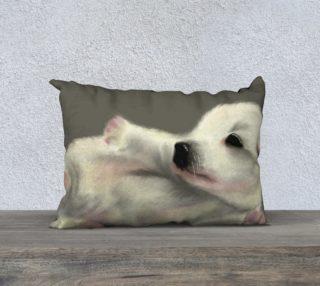 "Adorable Puppy Pillow Case 20"" x 14""  preview"