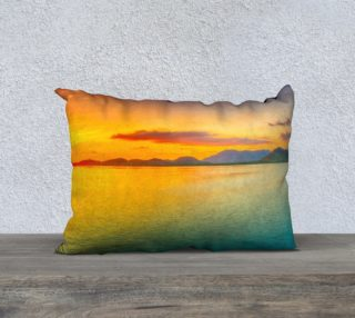 Caribbean Sunset Cushion preview