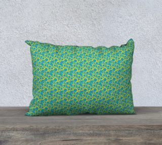 Aperçu de Small Rectangular Pillow Case Inspired by Am Pharoah