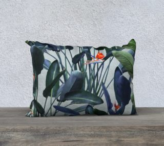 Bird of Paradise Pattern V2 Pillow 20x14 preview