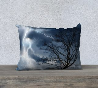 """Electric Conversation - 20""""x14"""" Pillow Cover preview"""
