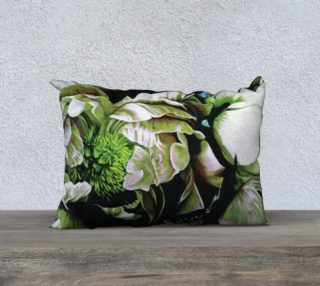 "Peony Ridin' Pillow IV-20""x14"" Pillow Case preview"