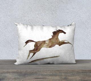 Watercolour Horse Rustic aperçu