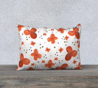 Orange blossoms with dots preview
