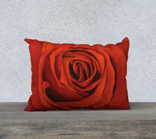 "Seeing Red-20""x14"" Pillow Case preview"