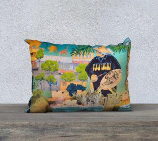 Aperçu de Sunrise Market Pillow Case