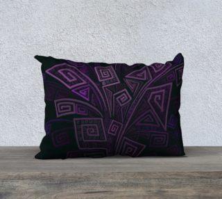 Aperçu de Purple 3D Square