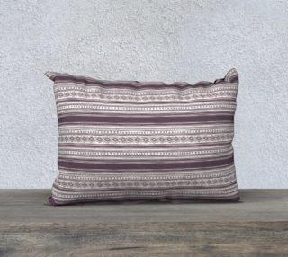 Lilac Pattern Pillow Case 20 x 14 aperçu