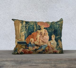 Pastoral Picnic Pillow II preview