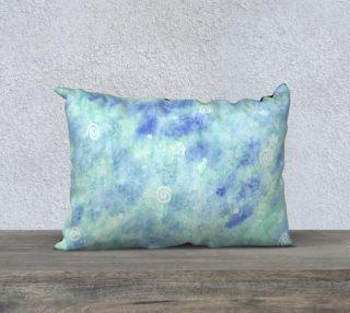 Blue lagoon 20 x 14 Pillow Case aperçu