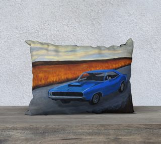 Dodge Charger Pillow Case preview