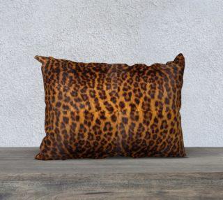 Aperçu de Safari Leopard-Background 20x14  Pillow Case
