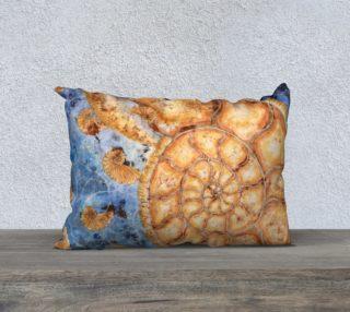 Nautilus Shell Fibonacci Under the Sea 20x14 Pillow Case preview