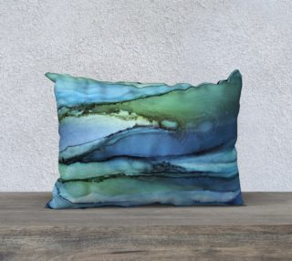 Blue Pools Pillow Short preview