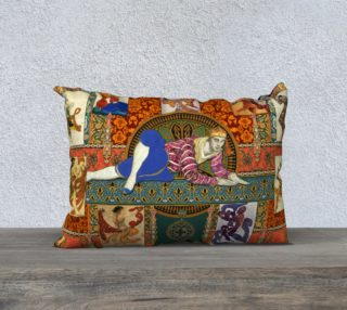 Aperçu de Ballets Russes Tapestry - 20x14 Pillow Case