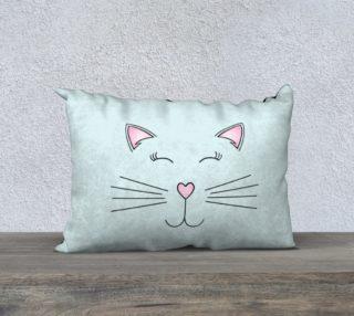 """Pretty Kitty Pillow Case - 20""""x14"""" preview"""
