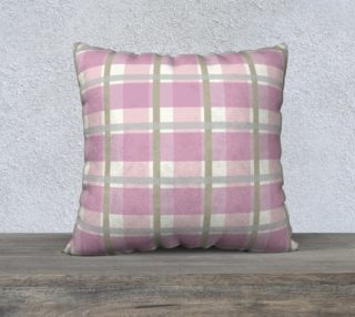 Pink Plaid Chalk and Fusion paint Match preview