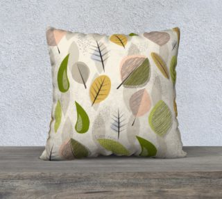 Mid-Century Modern Falling Leaves  preview