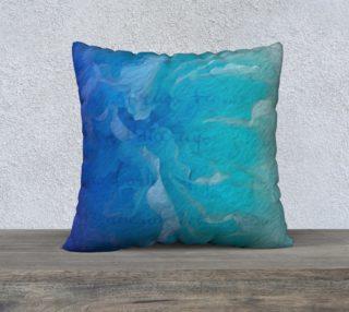 Aperçu de Blue I So Hope 22 x 22 Pillow Case