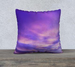 22x22 Purple Sunrise Pillow Case preview