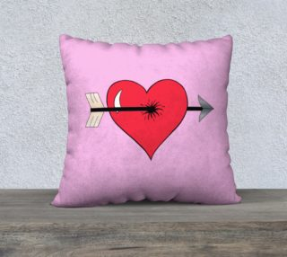 Struck by Cupid's Arrow Pillow Case - 22 preview