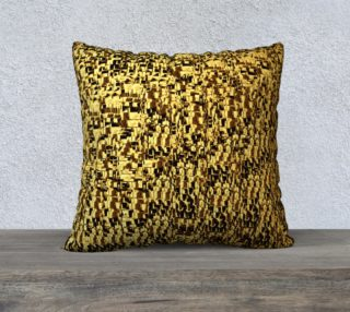 golden texture pillow preview
