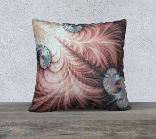 Cretaceous Crustacean Square Pillow preview