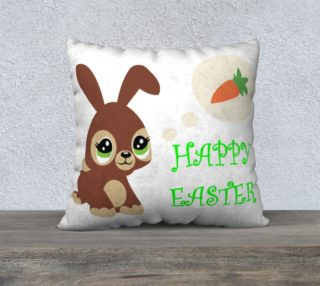 Cute Bunny Happy Easter preview