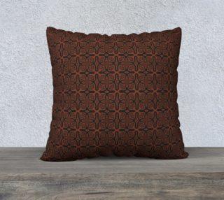 Fire Maze Tile 22 x 22 Pillow preview