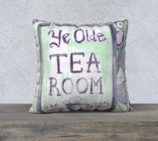 Ye Olde Tea Room  22 x 22 Pillow Case preview