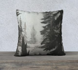 Forest pillow preview