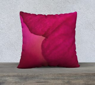 Magenta Pillow Cover 22 x 22 preview