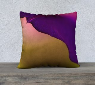 Purple Edge Pillow, 22 x 22 preview